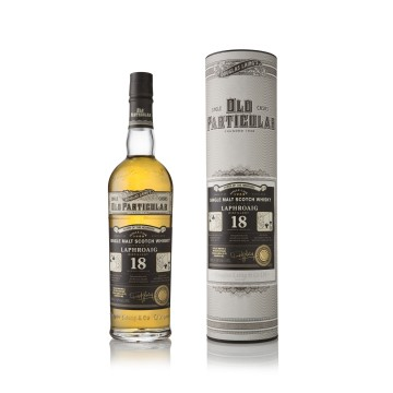 "Laphroaig 18y Old Particular ""Consortium of Cards"" 1st edition Queen of the Hebrides"