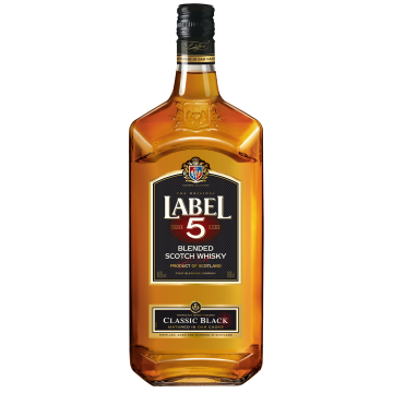 Label 5 Scotch Whisky